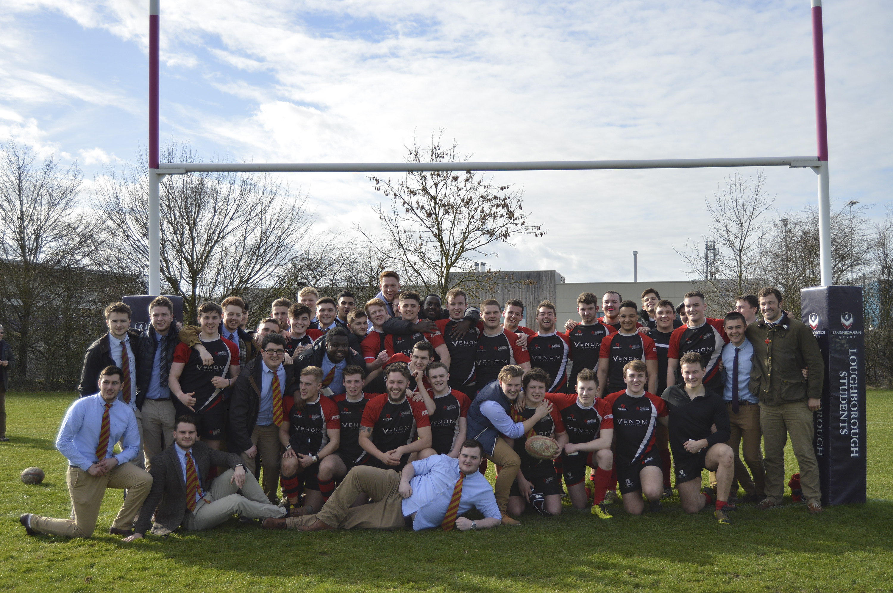 DMU Rugby 1st Midlands Cup Win