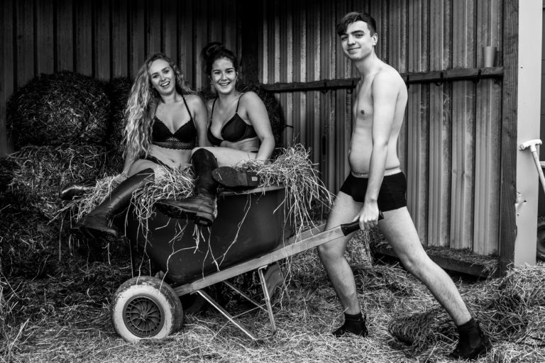 September Naked Calendar - Kirsty Blackwell